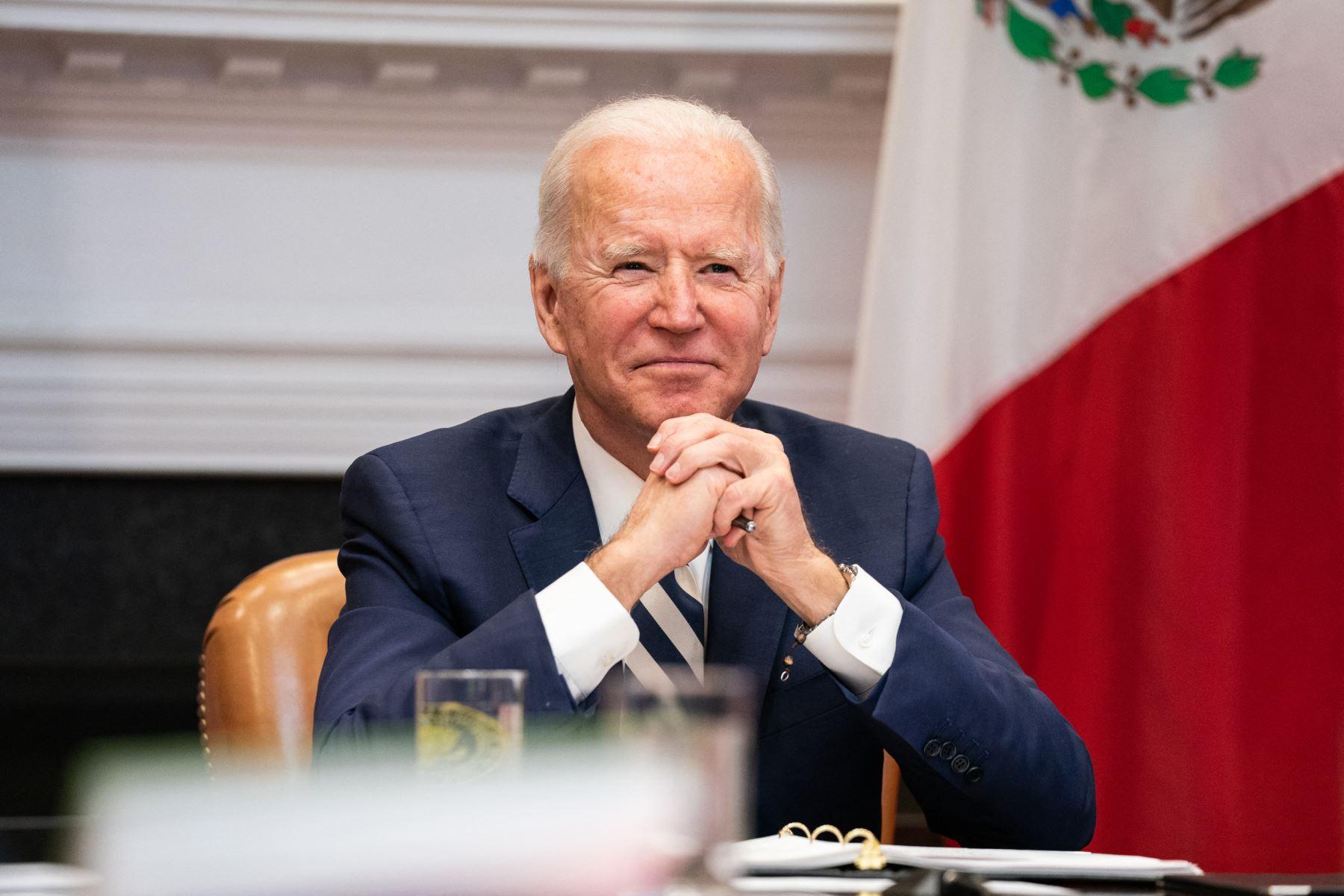 """Biden anunció, además, que los centros de producción de las vacunas de Johnson & Johnson funcionarán desde ahora las """"24 horas del día, los siete días de la semana"""". Foto: AFP"""