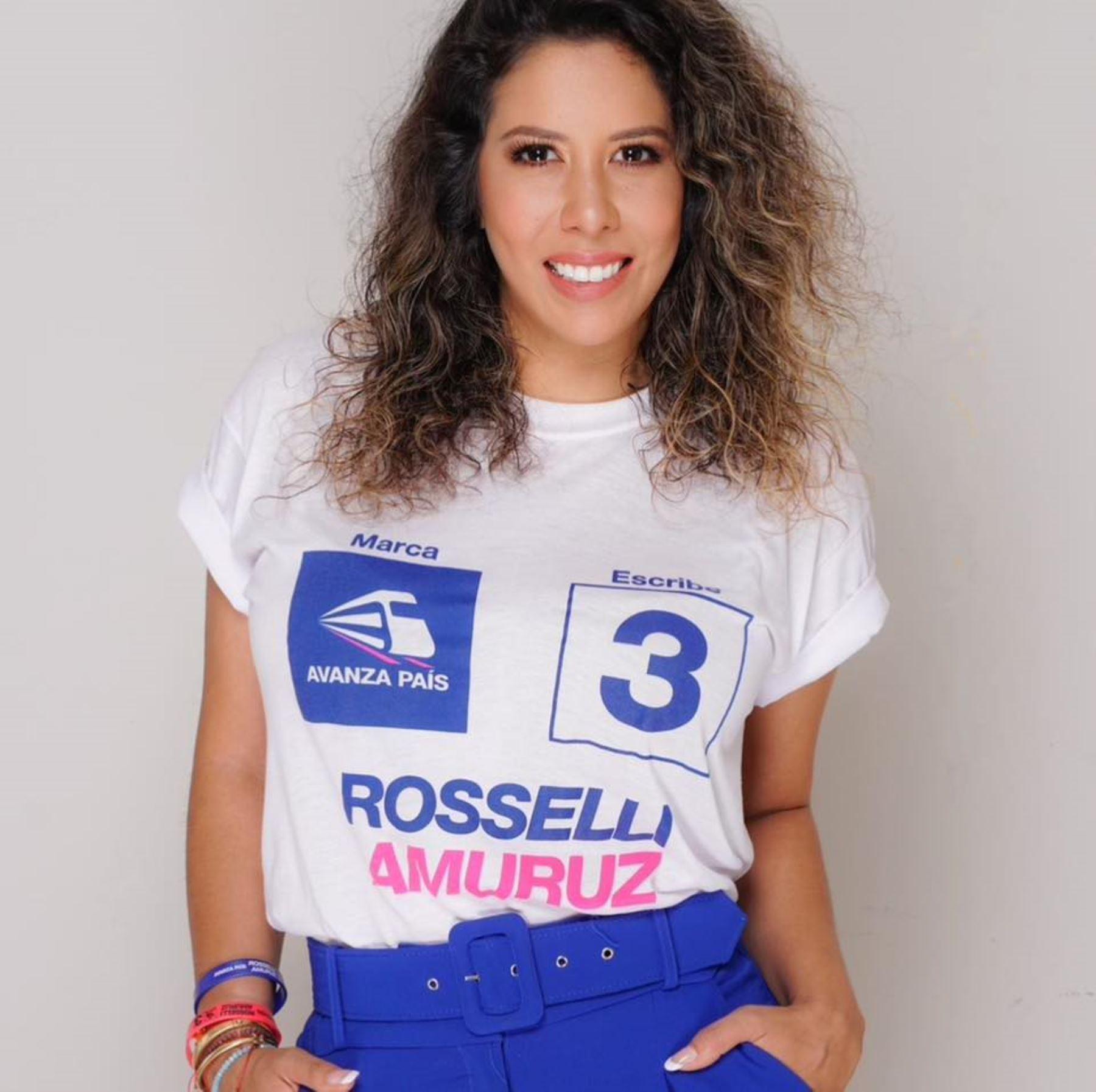 Rosselli Amuruz, candidata al Congreso con el número 3 de Avanza País.