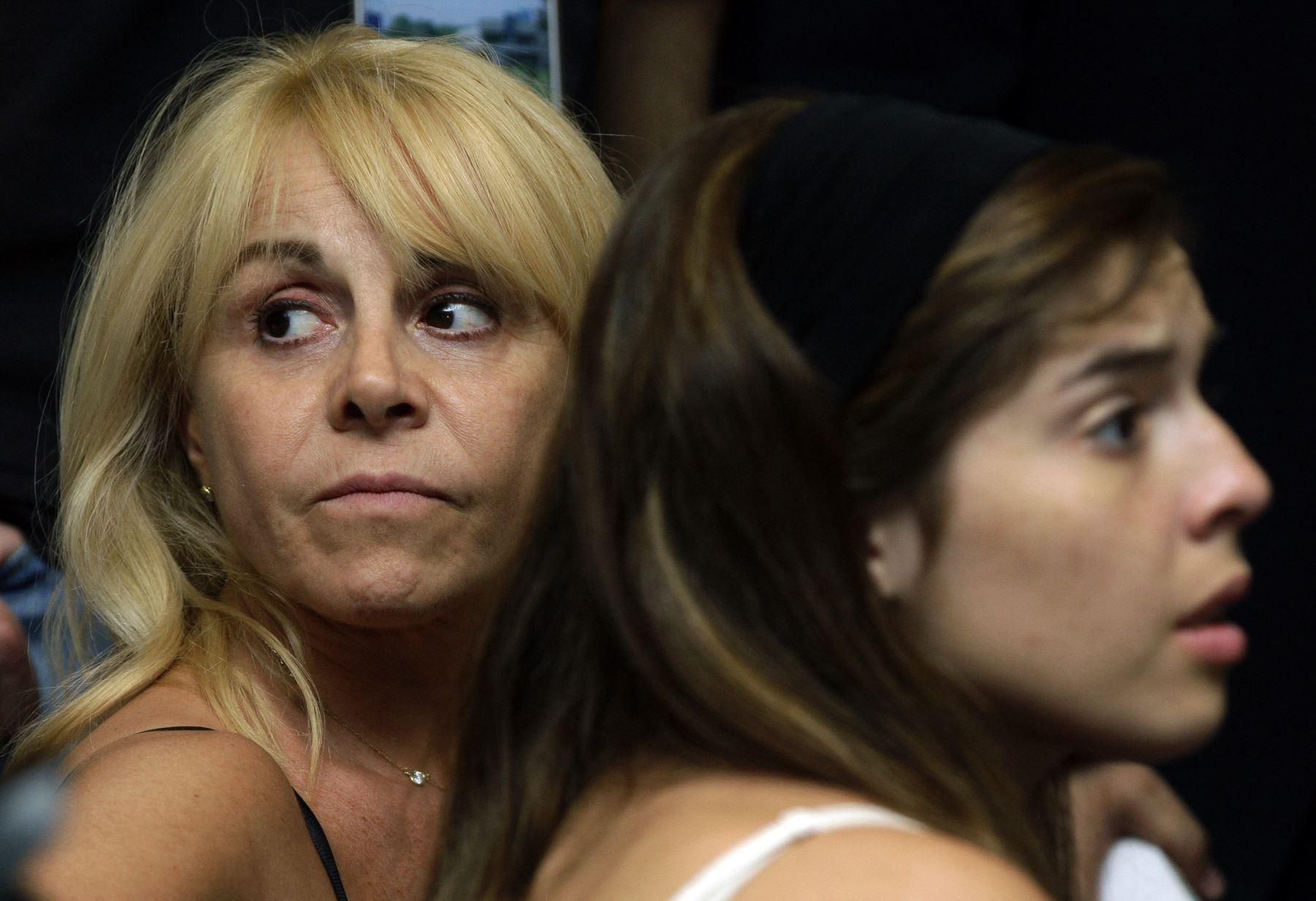 La exesposa de Maradona dijo que tenía una buena relación con el campeón del mundo, a pesar del enfrentamiento judicial que tenían por cuestiones económicas. Foto: AFP