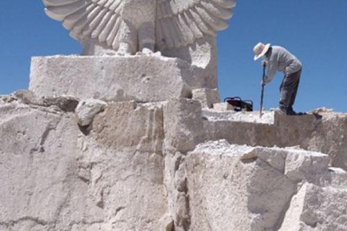 La palabra sillar es usada por los arequipeños para designar al bloque de roca empleado típica e históricamente para la construcción en la Ciudad Blanca. Foto: ANDINA/Ingemmet