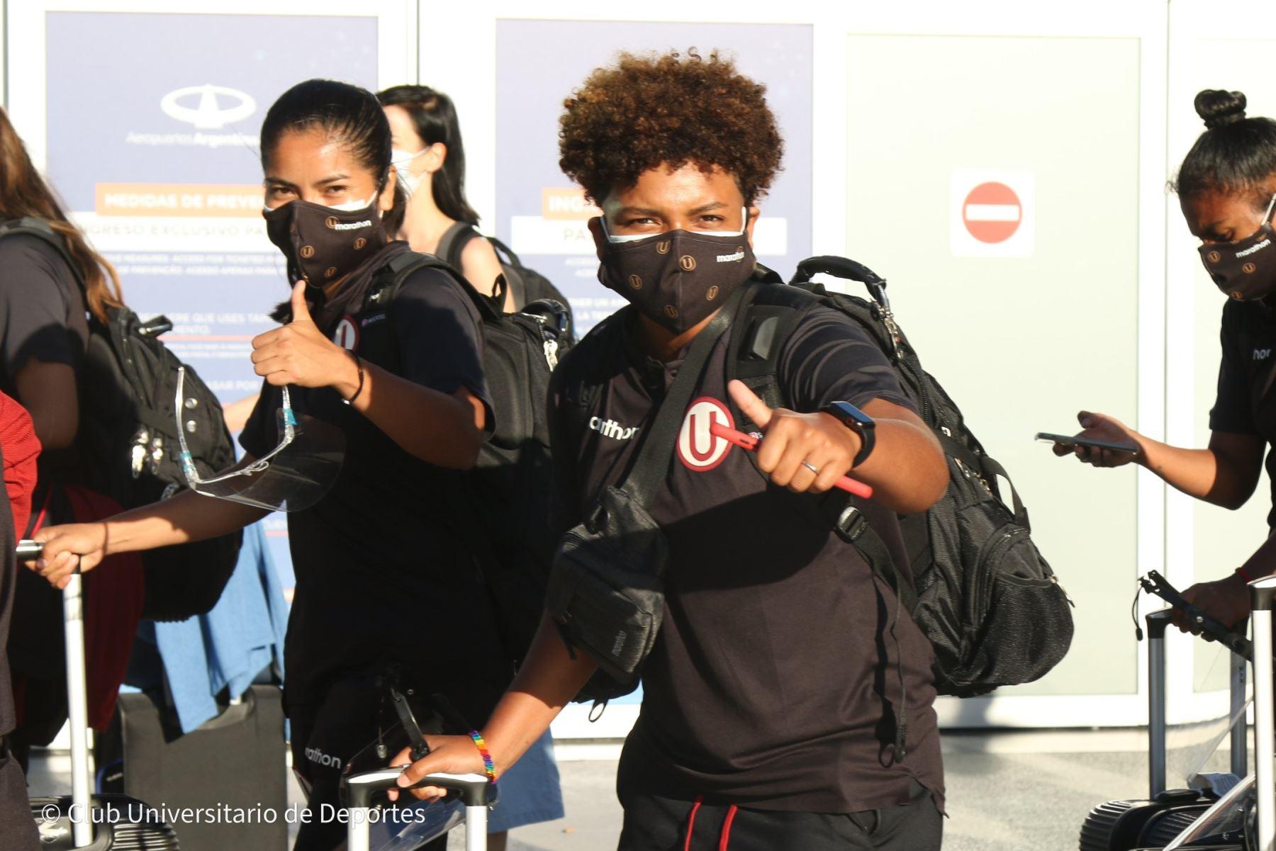 Universitario ya está en Buenos Aires para jugar la Copa Libertadores femenina 2020