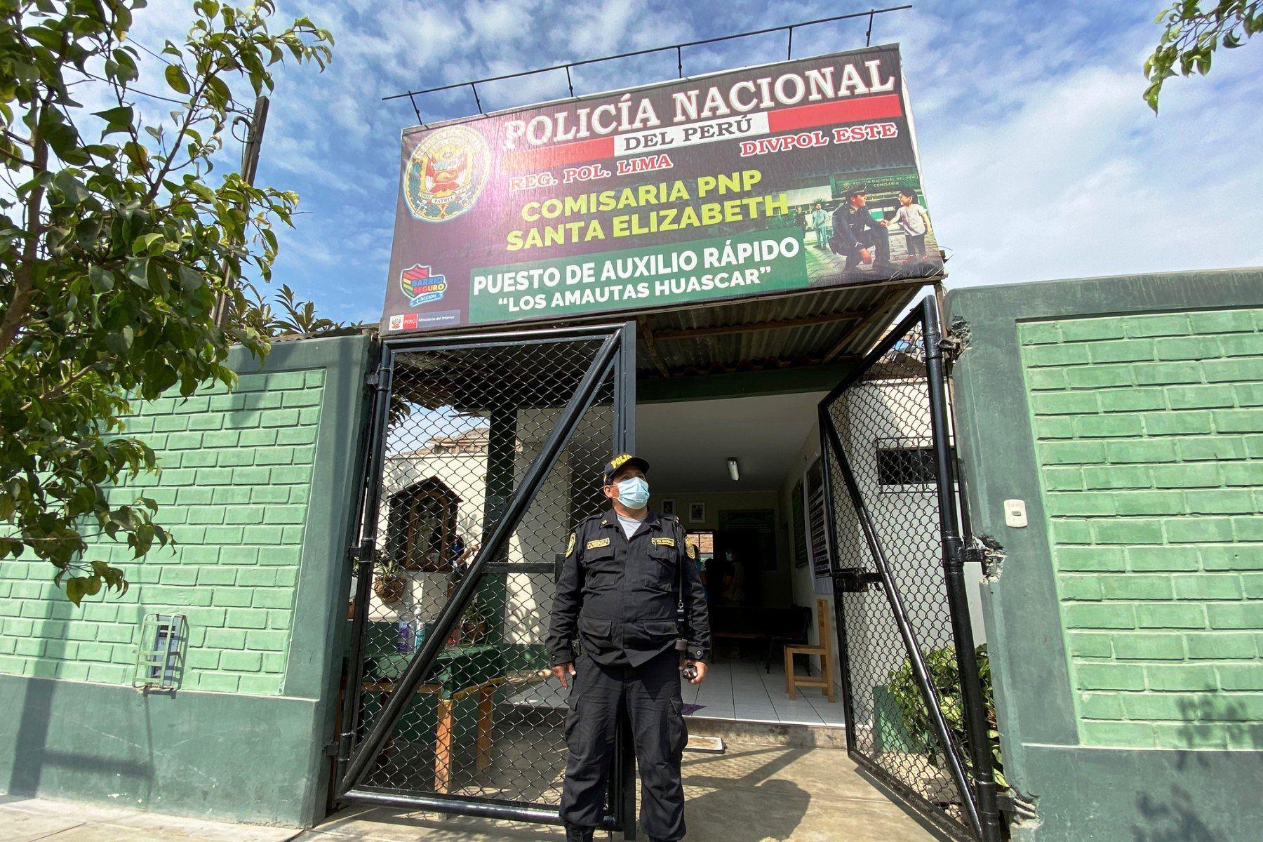 San Juan de Lurigancho: implementan nuevo modelo en comisaría para enfrentar al covid–19. Foto: ANDINA/difusión.