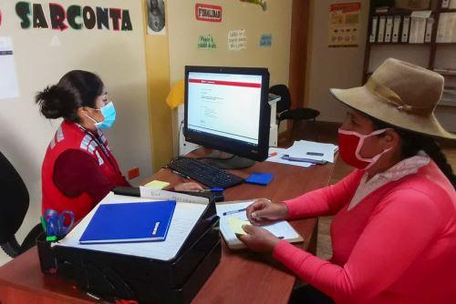 Ministerio de Desarrollo e Inclusión Social  orienta a población rural  en regiones sobre el Bono 600