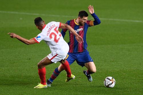 Barcelona choca ante Sevilla por la Copa del Rey