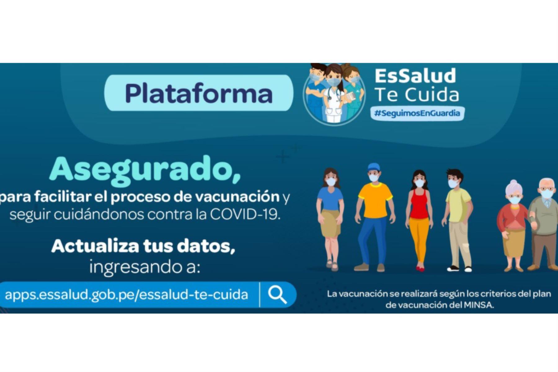 La plataforma EsSalud te cuida no puede ser utilizada por cualquier persona; solo está reservada para asegurados del Seguro Social. Foto: Captura TV