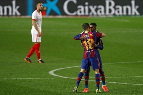 Barcelona gana 3-0 al Sevilla por la Copa del Rey