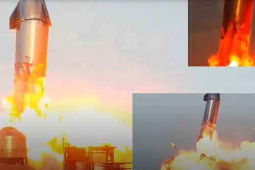 De momento no se han dado explicaciones sobre el siniestro. El aparato es la opción de SpaceX, propiedad del magnate Elon Musk, para viajar a Marte. Foto: Captura de pantalla