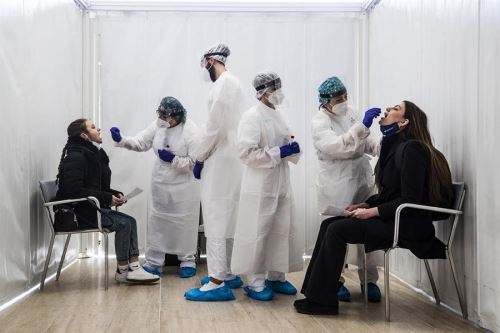 Italia cerca a los tres millones de contagios desde el inicio de la pandemia