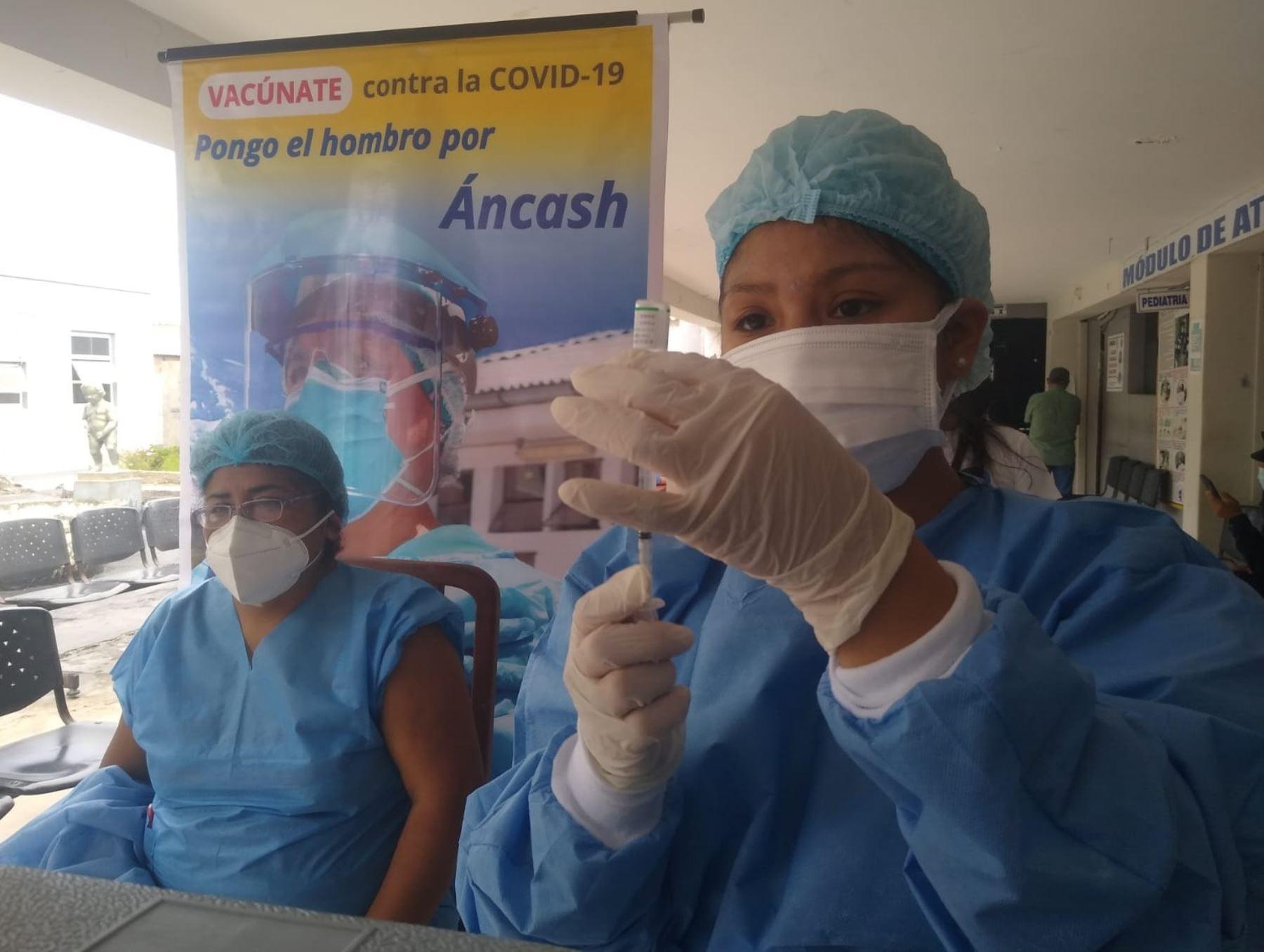 Chimbote: aplicarán segunda dosis de vacunas contra la covid-19 para pacientes con VIH