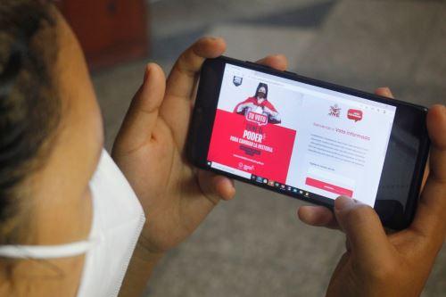 Más de dos millones de ciudadanos visitaron Web del voto informado del JNE.