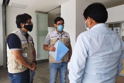 Personal de Susalud investiga el caso de un menor fallecido en el centro médico IGSA Medical Center del Callao.