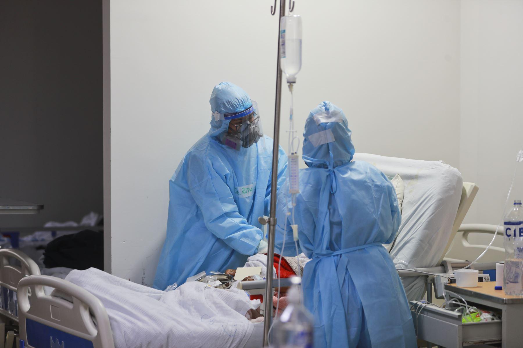 Resaltan la disminución de casos covid-19 y ocupación de camas UCI en Loreto. ANDINA/Carla Patiño Ramírez