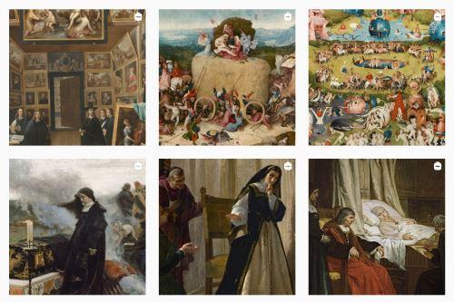"""El artículo destaca las colecciones de El Bosco y las """"Pinturas Negras"""" de Goya. Foto: @museoprado"""