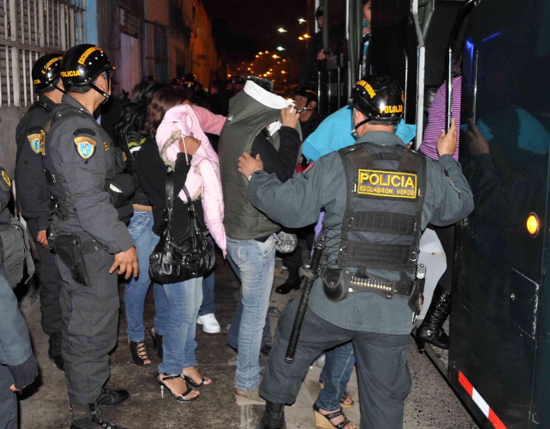 Policía interviene a 25 ciudadanos extranjeros por infringir cuarentena en Chiclayo y participaban de una fiesta. ANDINA/Archivo