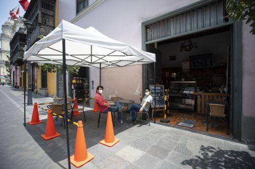Municipalidad de Lima implementa terrazas gastronómicas en restaurantes del Centro Histórico
