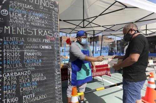 Mercado Móvil de la MML llegó al Cercado con 15 toneladas de alimentos