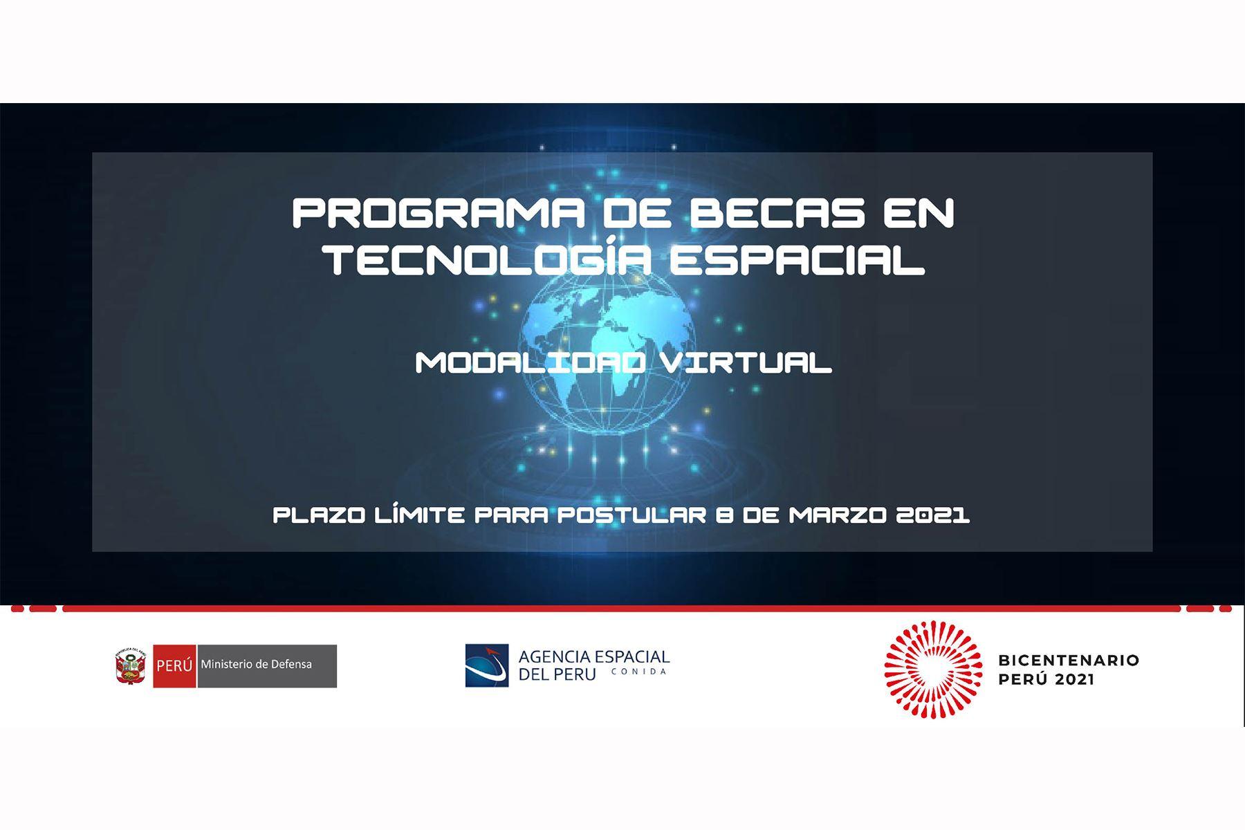 Programa de becas para maestría y doctorado en tecnología espacial