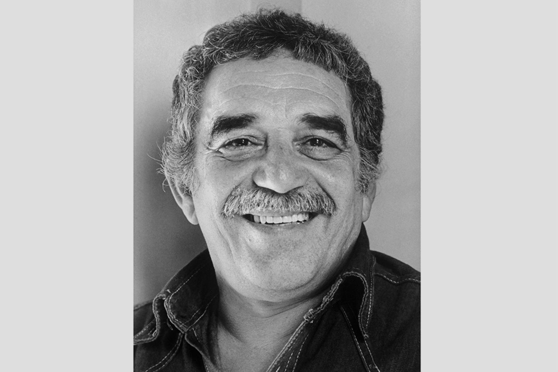 El escritor colombiano Gabriel García Márquez, premio Nobel de Literatura, retratado en octubre de 1982 en Estocolmo.  Foto: AFP