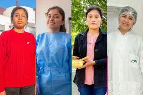 Día de la Mujer: cuatro historias de becarias que son ejemplo de superación. Foto: ANDINA/Difusión.