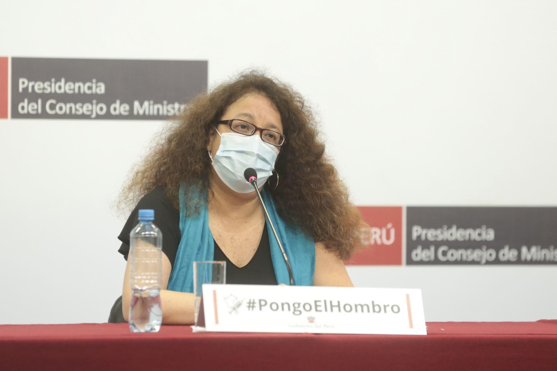 Ministra de Desarrollo e Inclusión Social, Silvana Vargas. ANDINA/Difusión