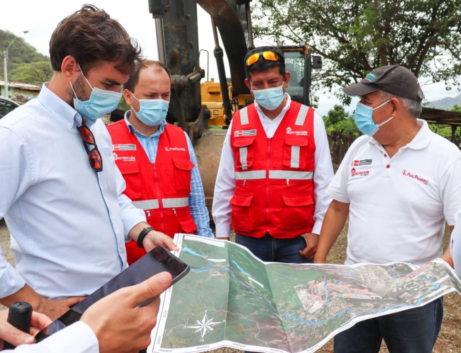 La Autoridad para la Reconstrucción con Cambios evalúa la cuenca del río Piura para fortalecer solución integral y evitar futuros desbordes.