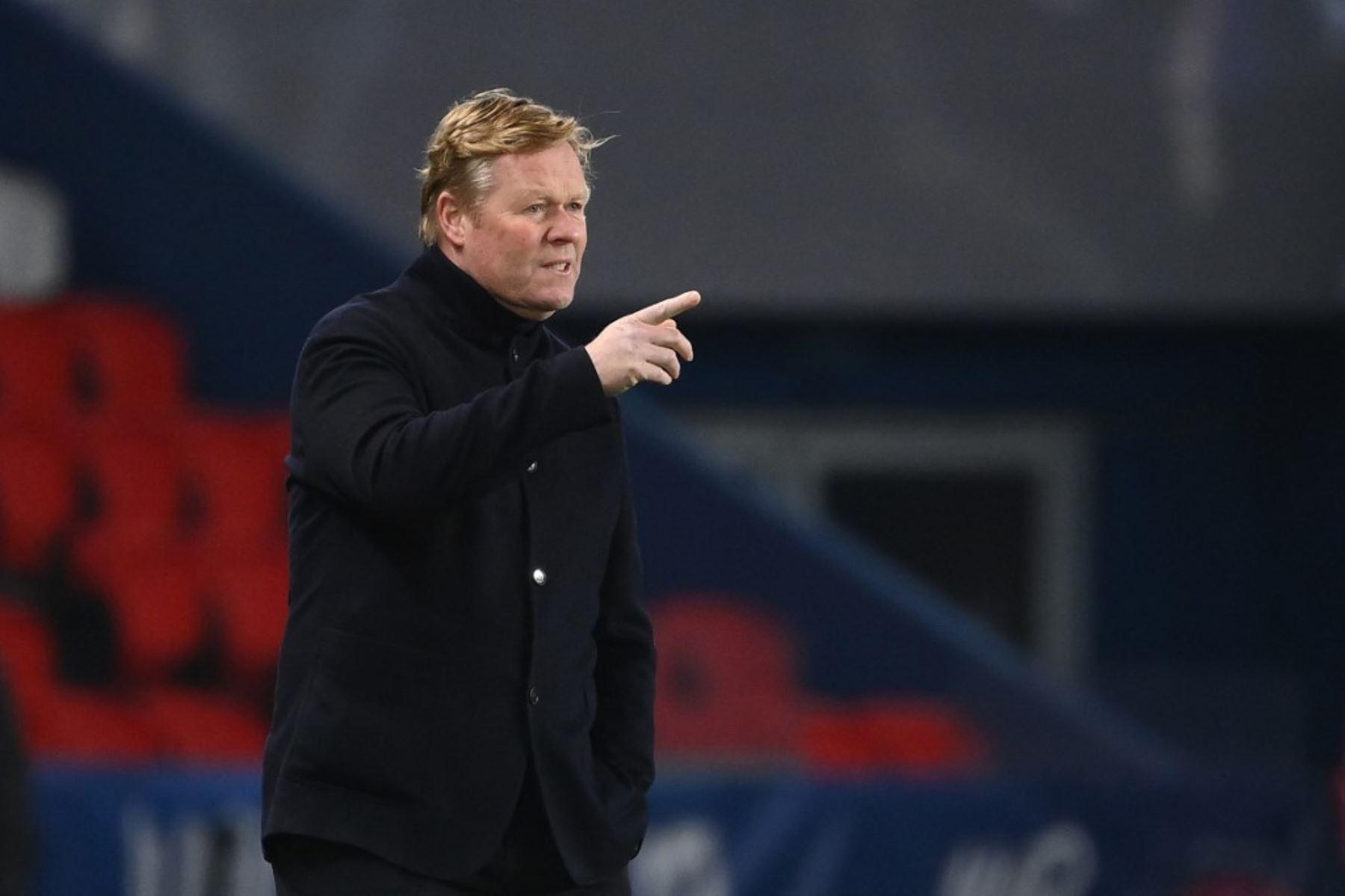 Koeman cree que Barcelona mereció mejor suerte ante el PSG