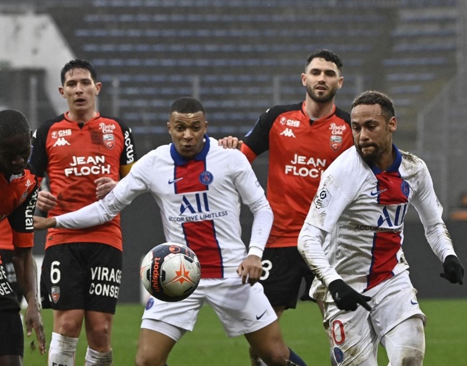 Neymar y Mbappé forman una dupla temible en el PSG