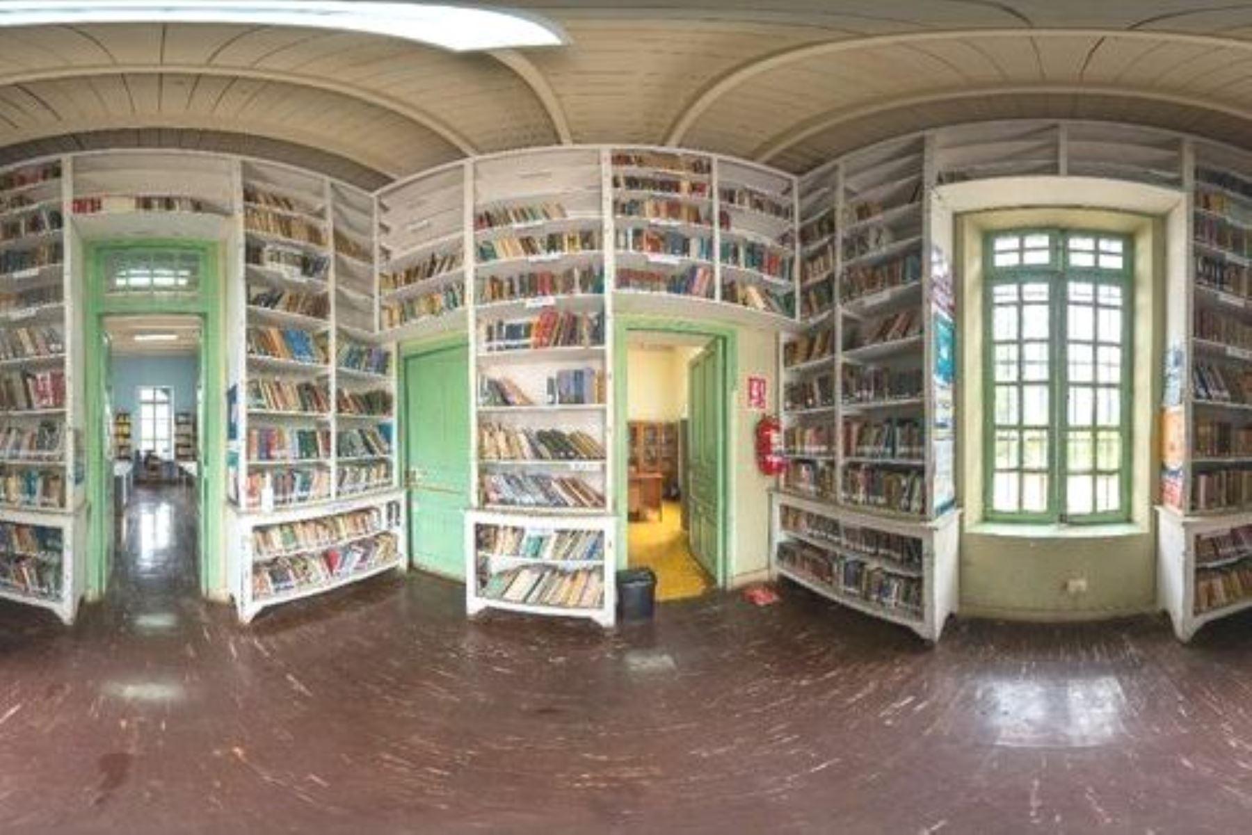 Biblioteca del hospital Víctor Larco Herrera brinda más de 5,000 títulos de manera virtual. Foto: ANDINA/Difusión.