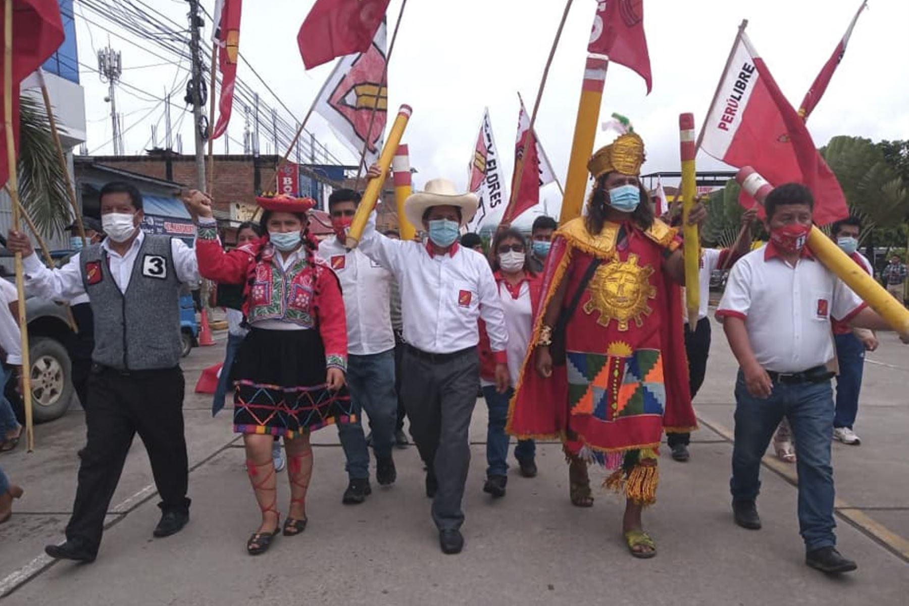Pedro Castillo participó en un foro sobre corrupción organizado por Proética. Foto: ANDINA.