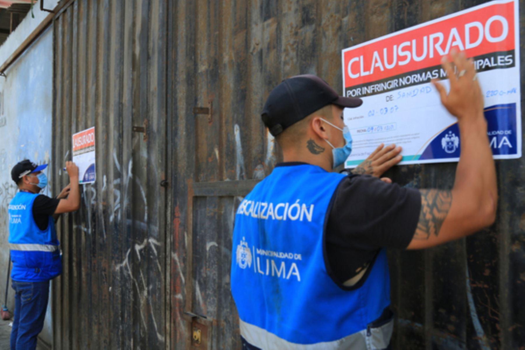 La Municipalidad Metropolitana de Lima llevó a cabo un operativo en la zona recuperada de la avenida Nicolás Ayllón. Foto: ANDINA/difusión.