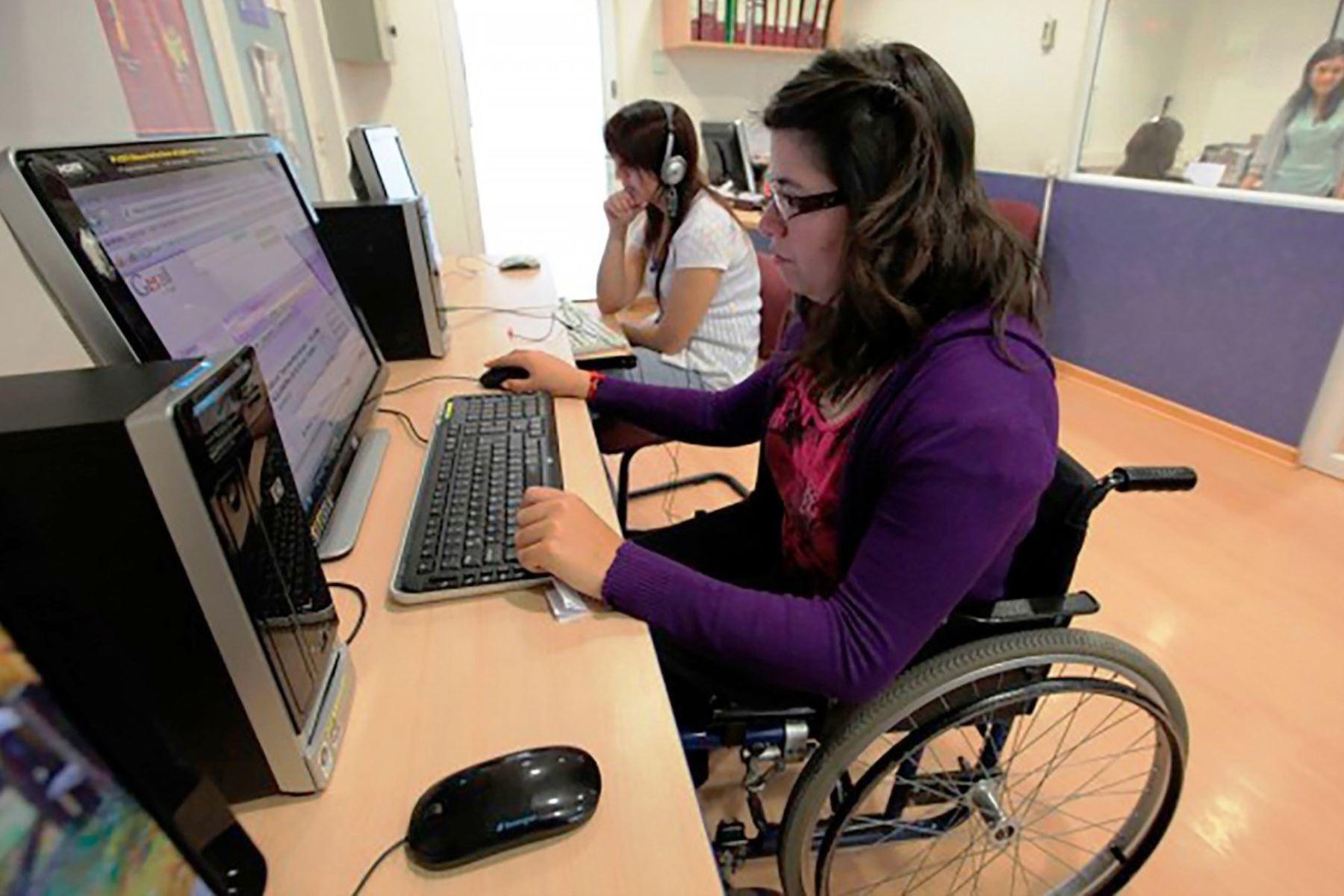 Minedu refuerza atención a estudiantes universitarios con discapacidad. Foto: ANDINA/Difusión.