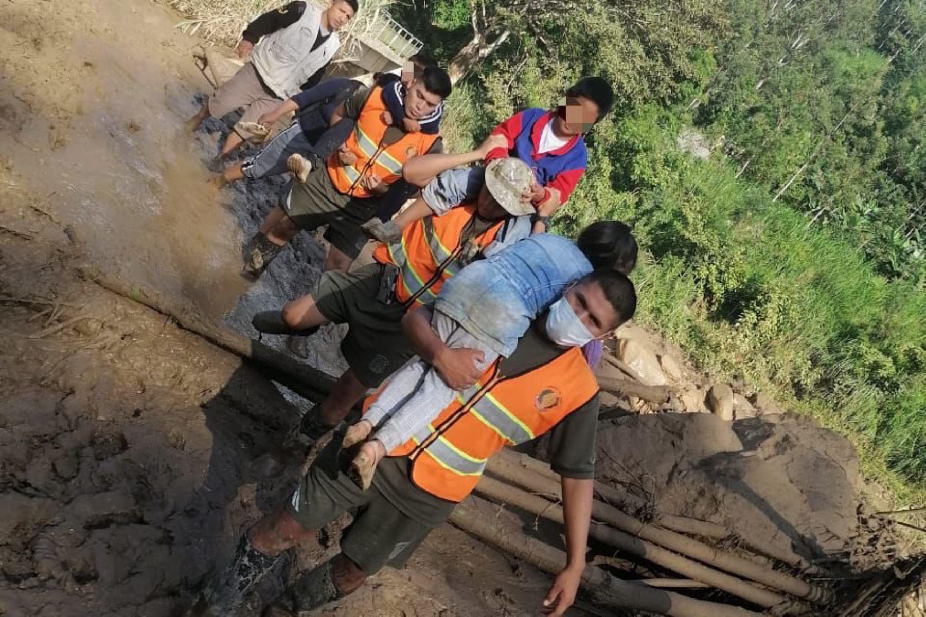 Sanos y salvos se encuentran los siete niños que fueron reportados como desaparecidos ayer en el distrito de Canchaque, en Piura, luego del aluvión que afectó a diversos poblados.