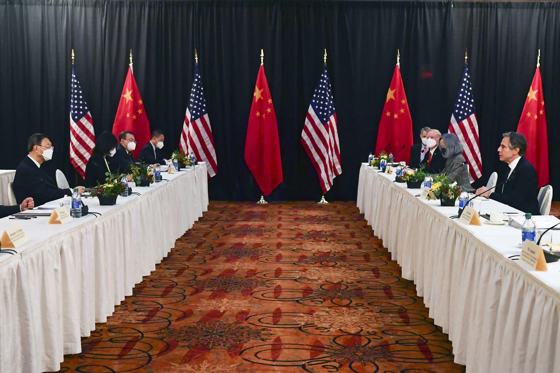 """El ministerio de Relaciones Exteriores había anunciado que """"China no hará ninguna concesión en temas referentes a su soberanía, seguridad e intereses"""". Foto: AFP"""