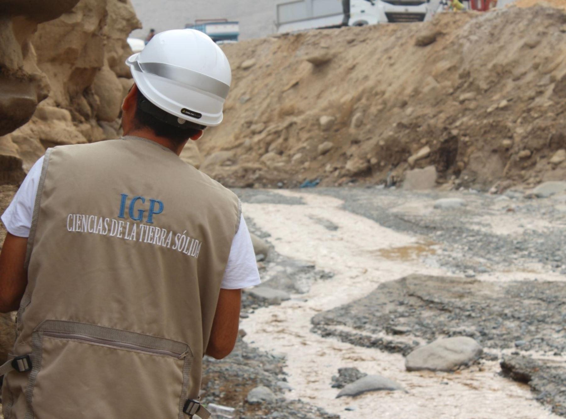 El IGP propone implementar un sistema de alerta de huaicos en las regiones más afectadas por lluvias intensas y desborde de ríos. ANDINA/Difusión