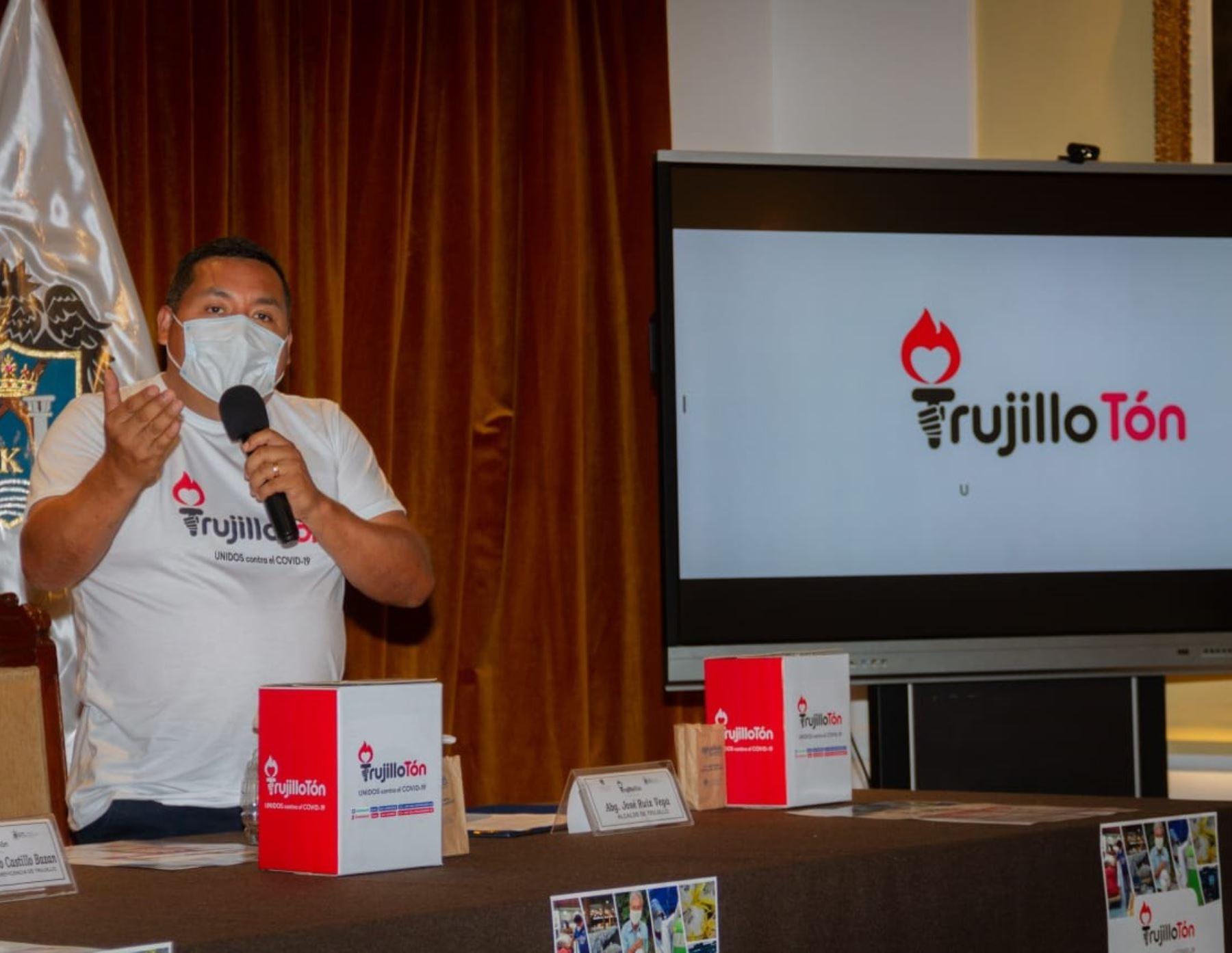 La Municipalidad y la Sociedad de Beneficencia de Trujillo lanzaron una cruzada para ayudar a las familias vulnerables afectadas por la crisis originada por la pandemia de covid-19. ANDINA/Difusión