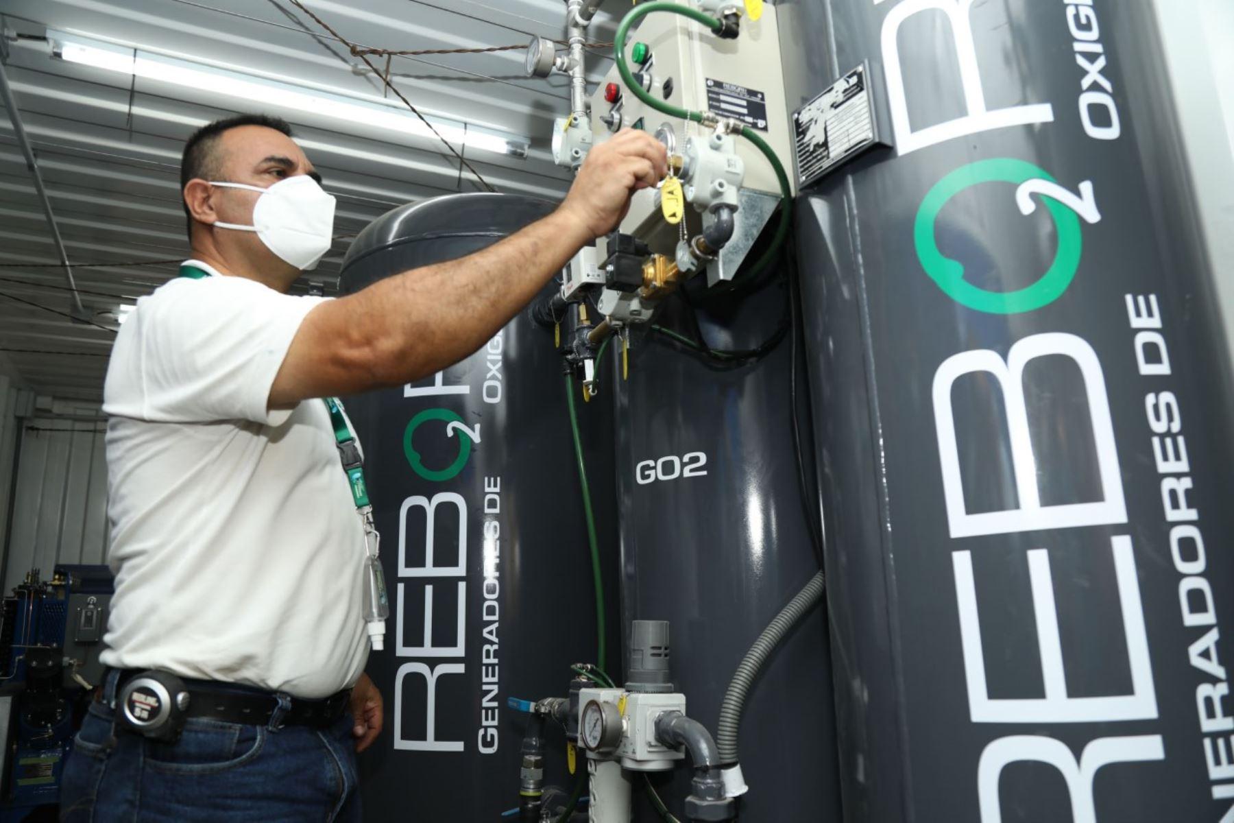 La minera Southern Perú donó una planta de oxígeno móvil que ayudará a la atención de pacientes covid-19 de Moquegua.