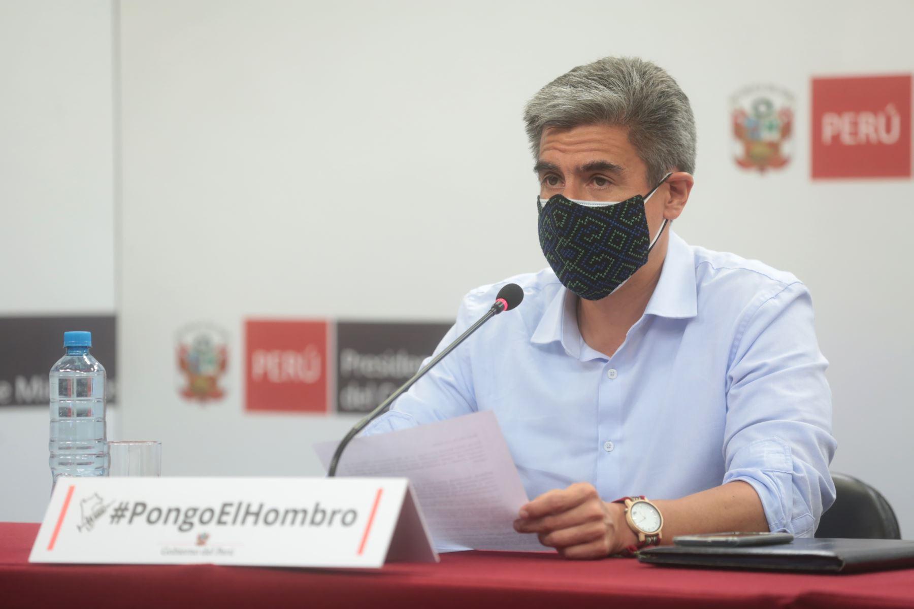 Ministro de Cultura, Alejandro Neyra. ANDINA/Difusión