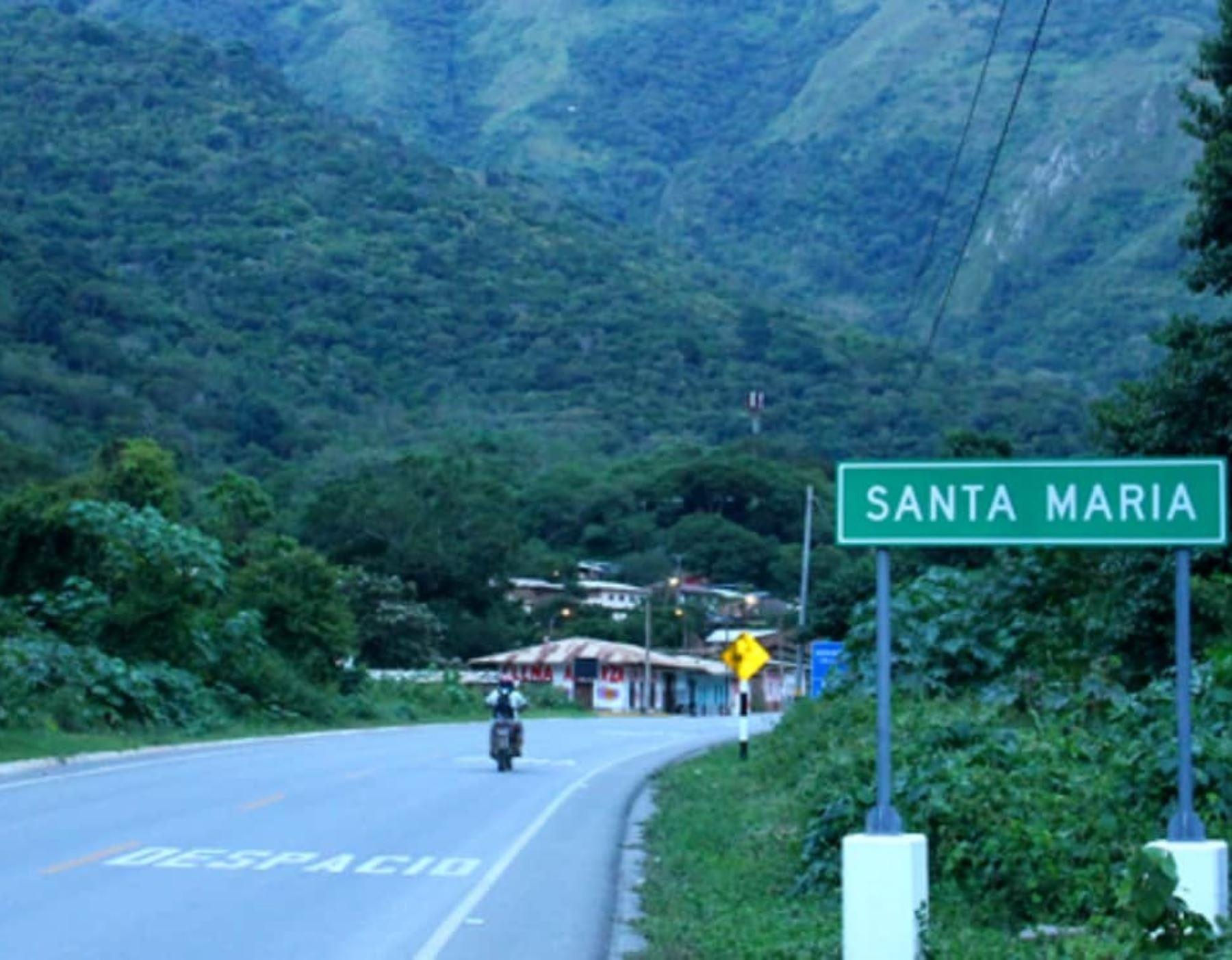El MTC aseguró que se cumplen los plazos de licitación de la carretera Santa María-Santa Teresa-Hidroeléctrica Machu Picchu, en Cusco. ANDINA/Difusión