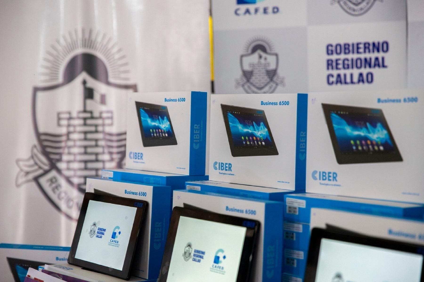 GORE CALLAO donará tablets a 91 mil estudiantes. Foto: ANDINA/Difusión