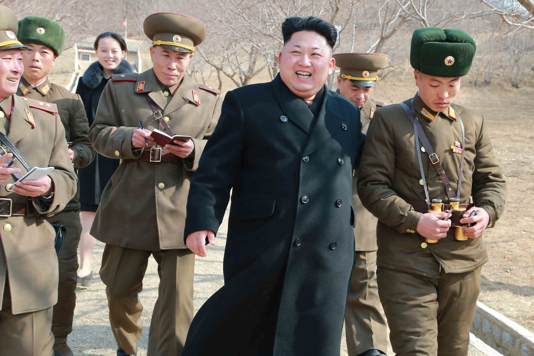 A pesar de estas escaramuzas verbales y ahora militares, Estados Unidos asegura que todavía está abierto al diálogo con los líderes norcoreanos. Foto: AFP