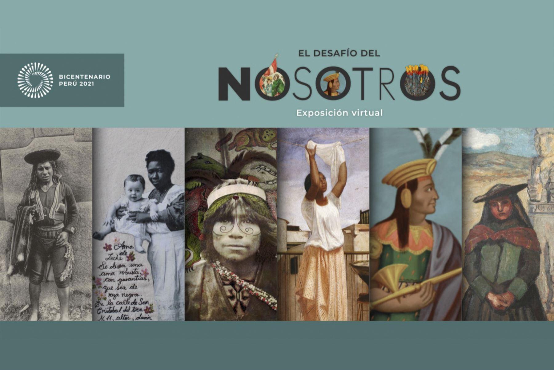 """""""El Desafío del Nosotros"""", la nueva exposición virtual del Proyecto Bicentenario . ANDINA/Difusión"""