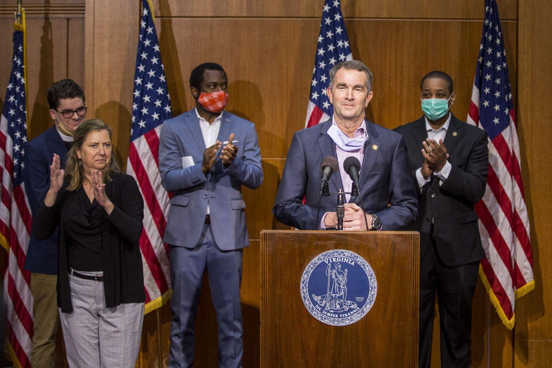 El gobernador afirmó que la aplicación de la pena de muerte en Virginia se llevaba a cabo con defectos de procedimiento y además tenía sesgos raciales. Foto: AFP