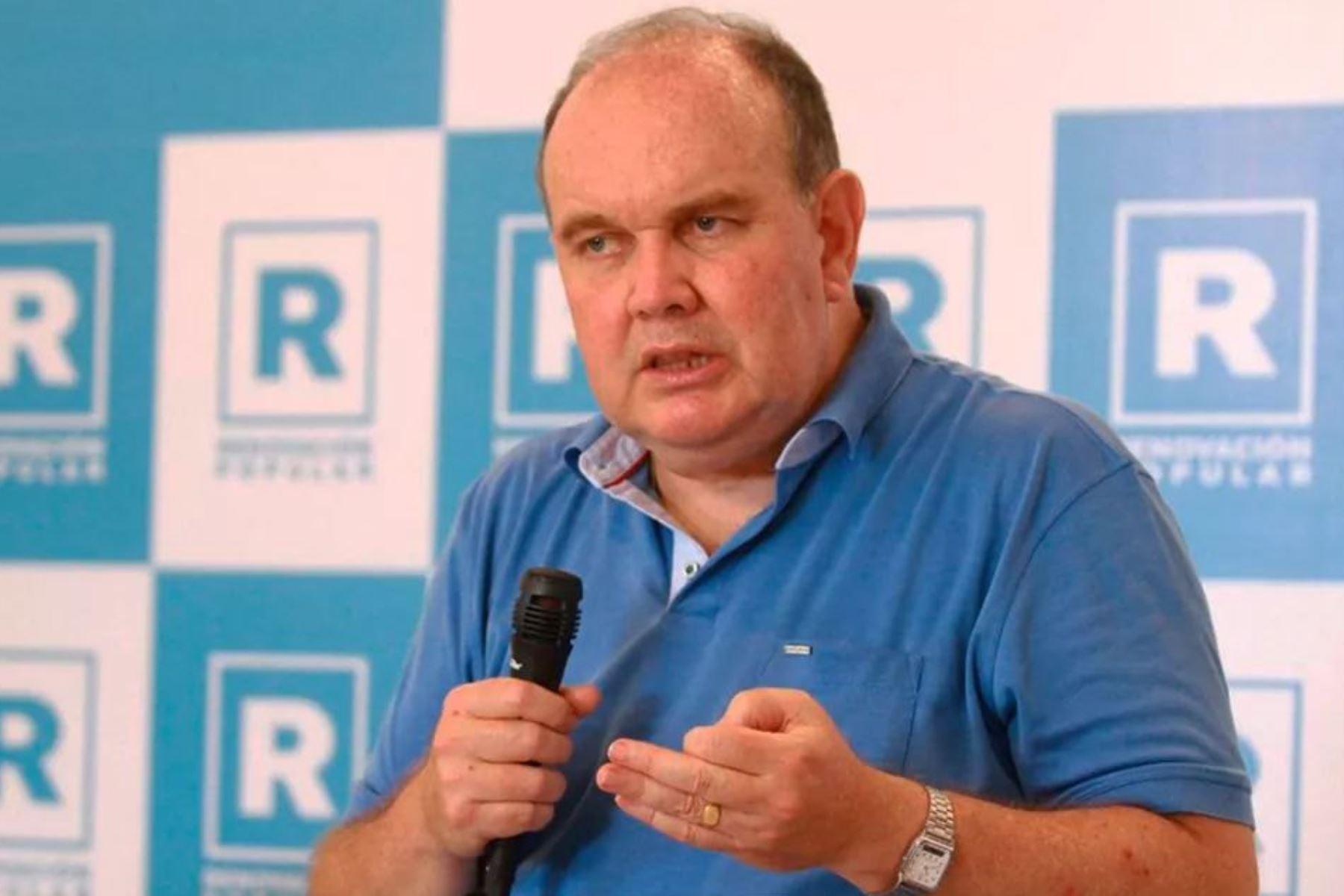 Excandidato presidencial pidió la muerte de Pedro Castillo y Vladimir Cerrón. ANDINA/Difusión