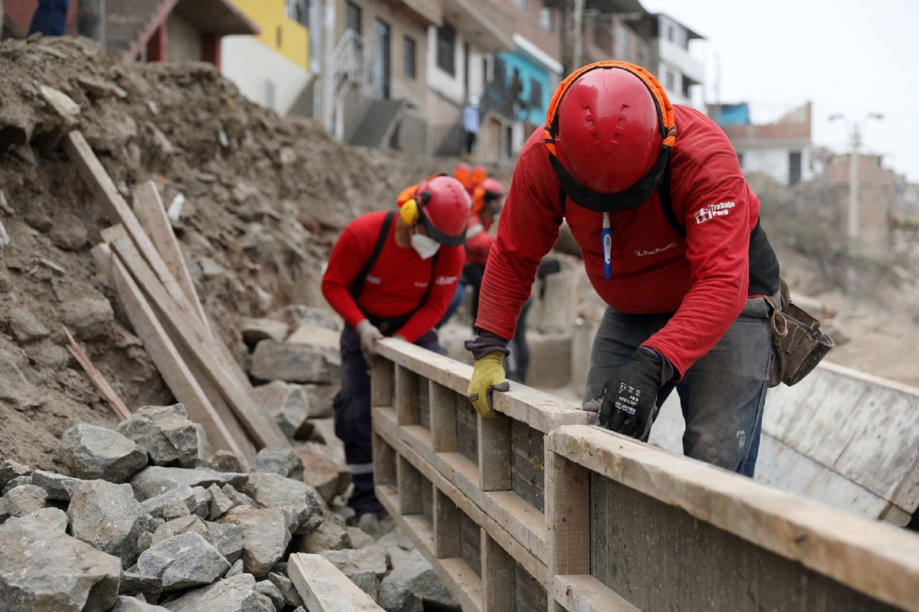 Programa Trabaja Perú. Foto: cortesía MTPE.