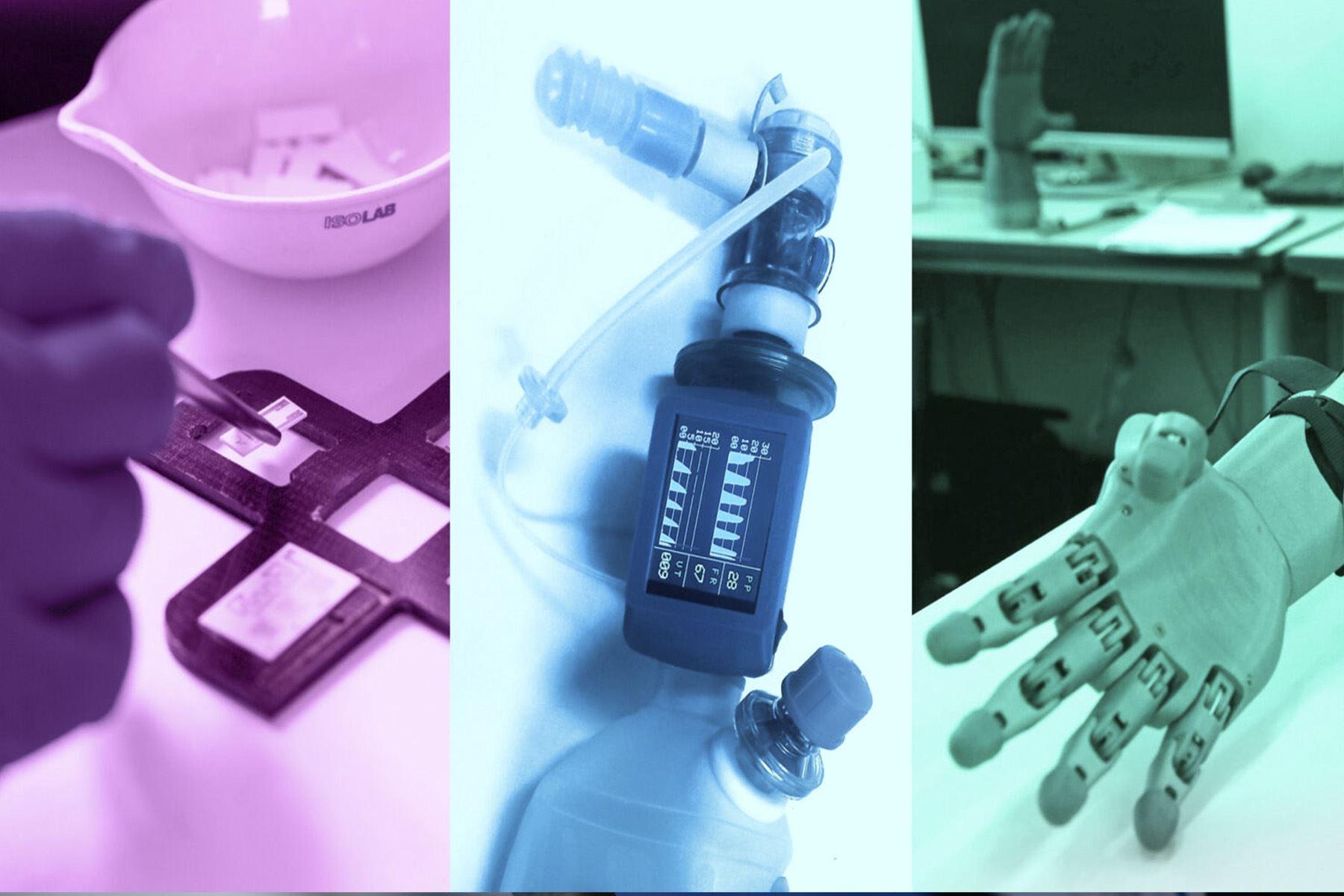 Tres inventos peruanos fueron reconocidos en la exhibición de inventos patentados más importante del mundo (Foto: PUCP)