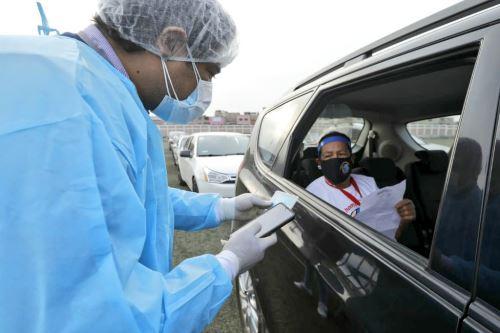 La Diris Lima sur detalló adónde pueden acudir los ciudadanos que tenían programado vacunarse contra el covid-19 en dicho punto. Foto: ANDINA/difusión.