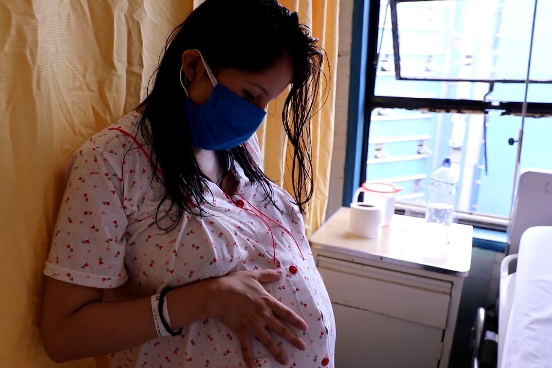 EsSalud: 20% de gestantes del hospital Almenara tuvo covid-19. Foto: ANDINA/Difusión.