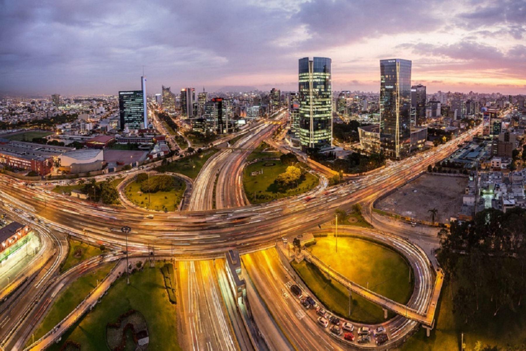 Centro financiero de Lima. Foto: Cortesía