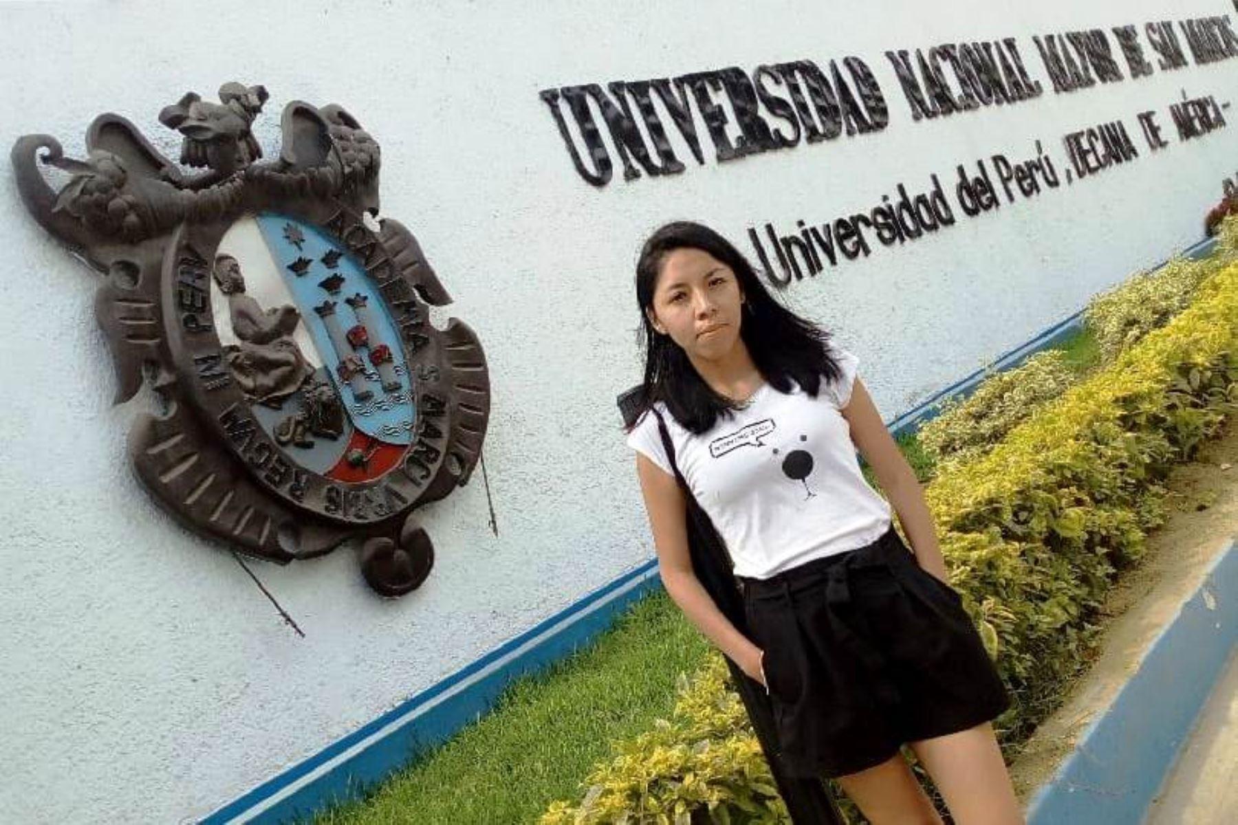 Lisbeth Orosco López, egresada de la Facultad de Derecho y Ciencia Política de San Marcos, es admitida en escuela de cambio climático de Oxford.