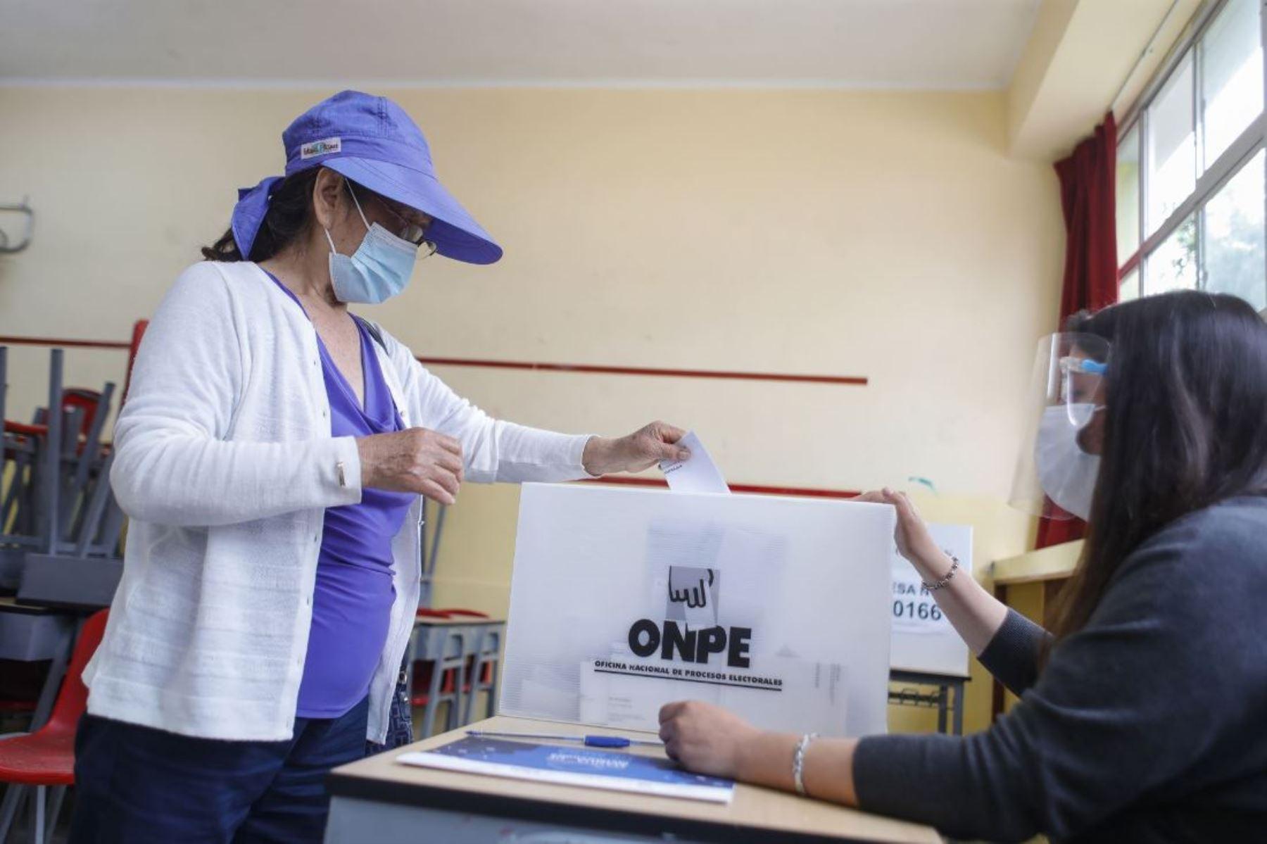 Elecciones 2021: Cinco recomendaciones para evitar el contagio del coronavirus. Foto: ANDINA/Difusión.